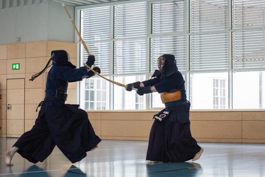 Kendo Kiel Trainingskampf