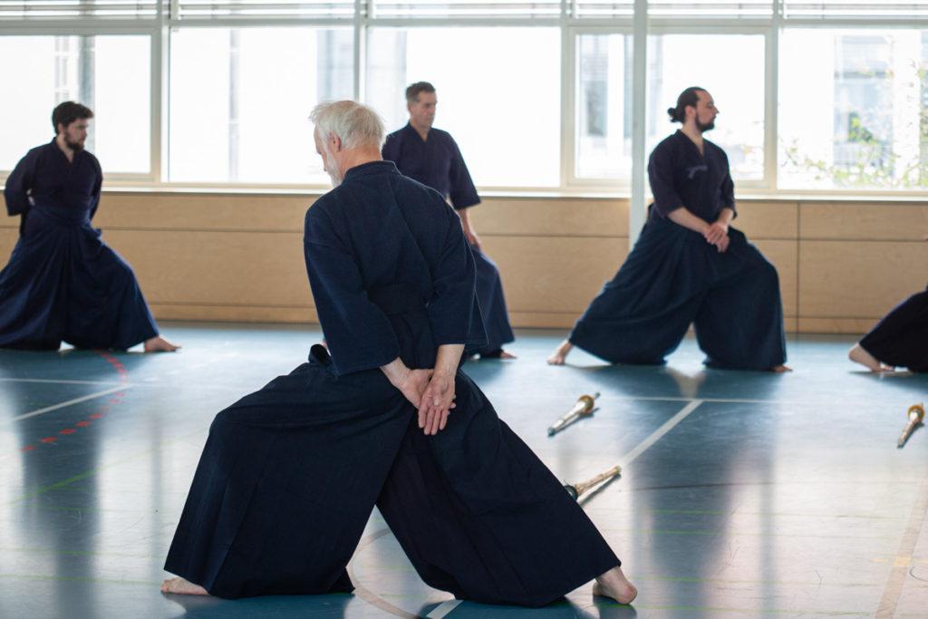 Kendo Kiel Aufwärmtraining Stretching